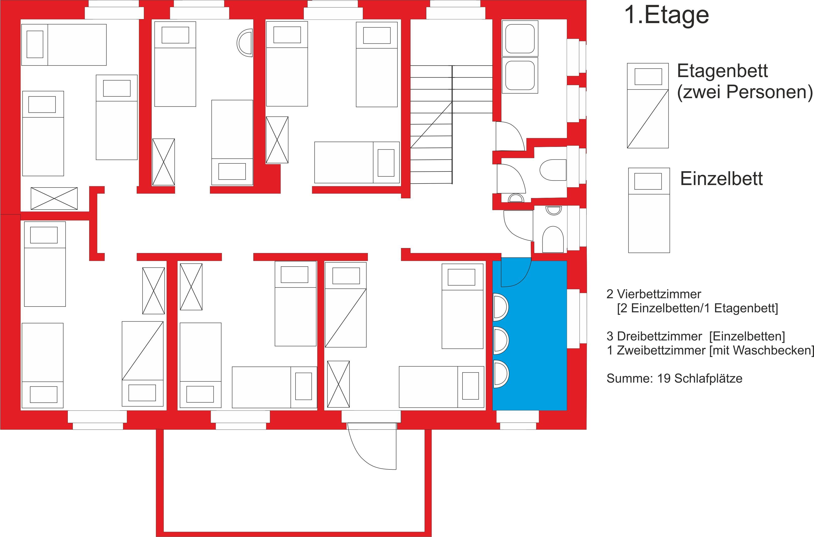 schlafetagen. Black Bedroom Furniture Sets. Home Design Ideas